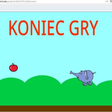 1. Gra – Latający słoń