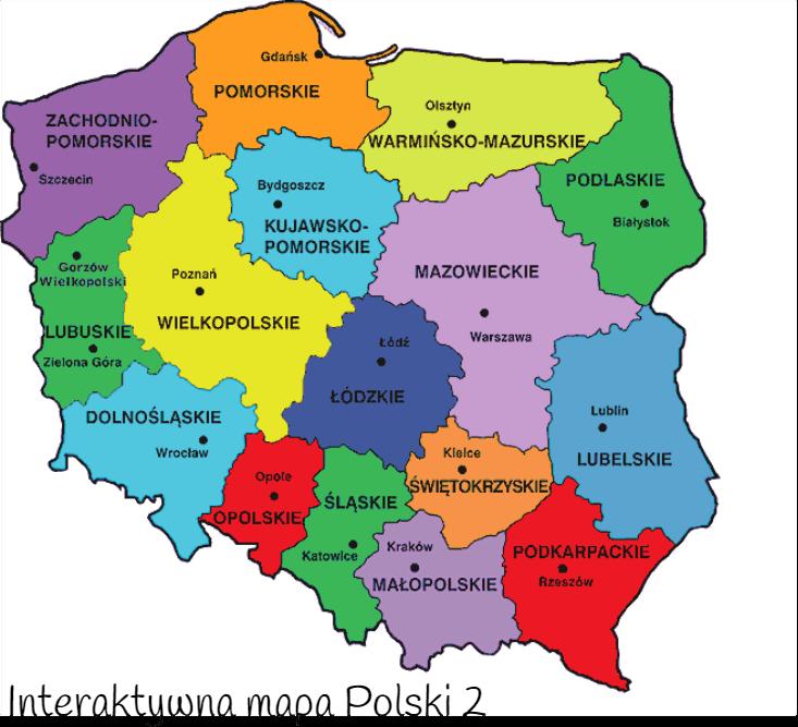 Mapa Polski - tło początkowe