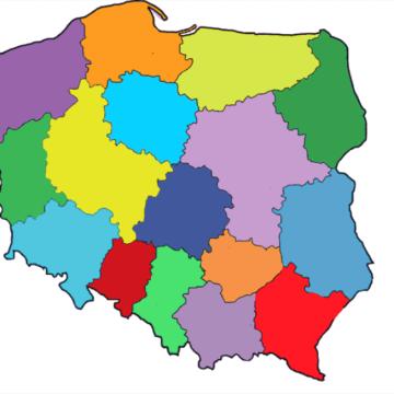 """18. Budowa Gry Scratch – """"Interaktywna Mapa Polski"""" – województwa – część 1"""