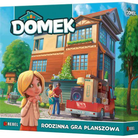 Pudełko z grą Domek