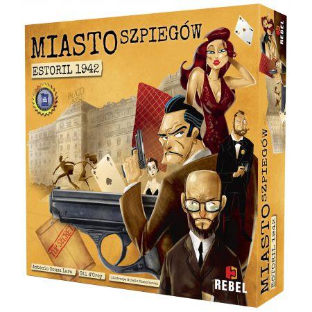 Pudełko gry Miasto Szpiegów