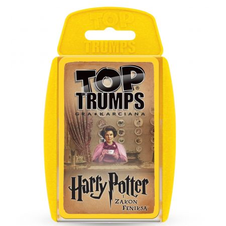 Pudełko na karty Top Trumps Harry Potter i Zakon feniksa